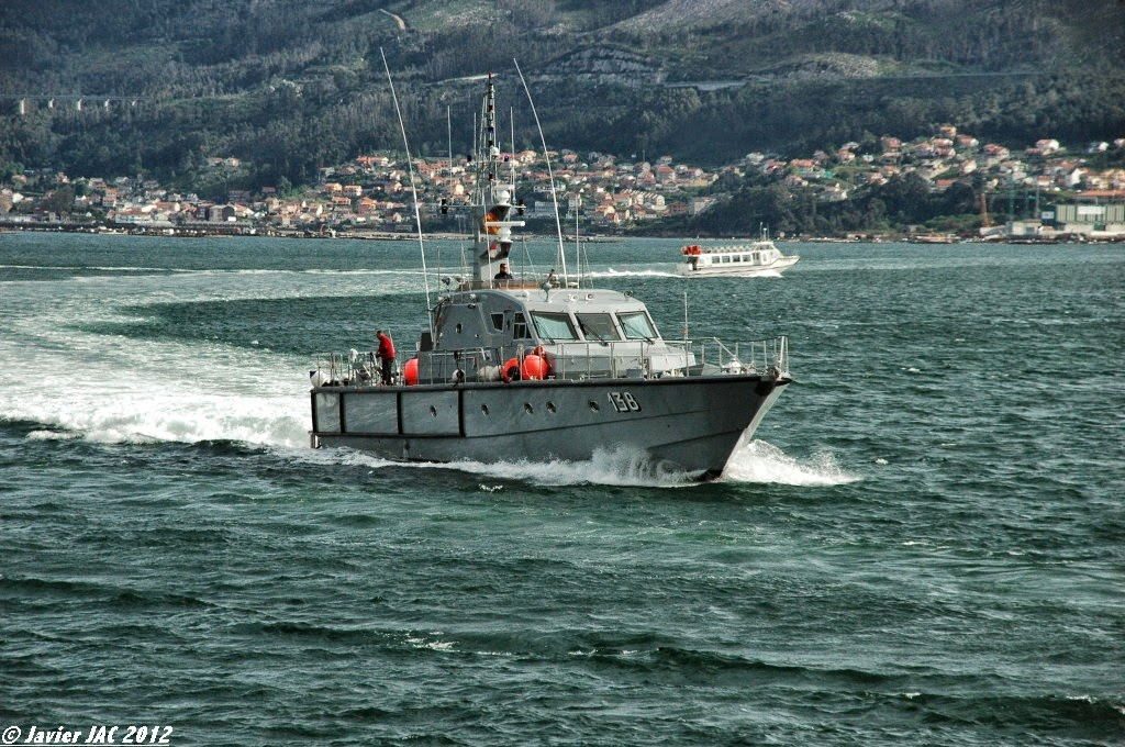 Moroccan Law Enforcement & Cost Guard Fleet / Vedettes de Surveillance et les Gardes des Côtes - Page 5 Clase+Rodman-101+P-138+(1)