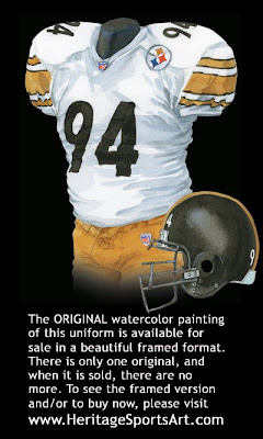 Pittsburgh Steelers 2004 uniform