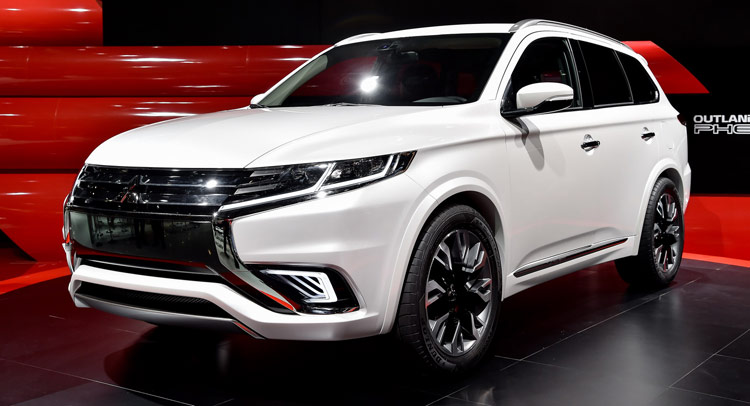 Mitsubishi S New Outlander Phev Concept S Looking Good In Paris