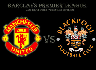 Manchester United vs Blackpool barclays premier League