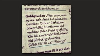 hur hitta kärleken Ystad