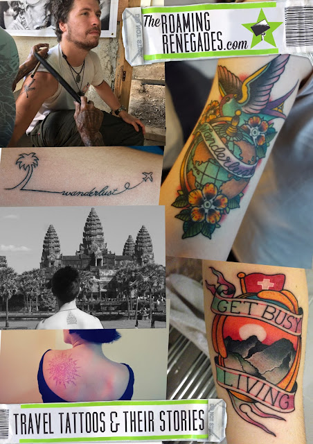The most fascinating, inspiring and unique travel tattoos & their stories! https://theroamingrenegades.com/2016/01/14/the-most-fascinating-inspiring-and-unique-travel-tattoos-their-stories/