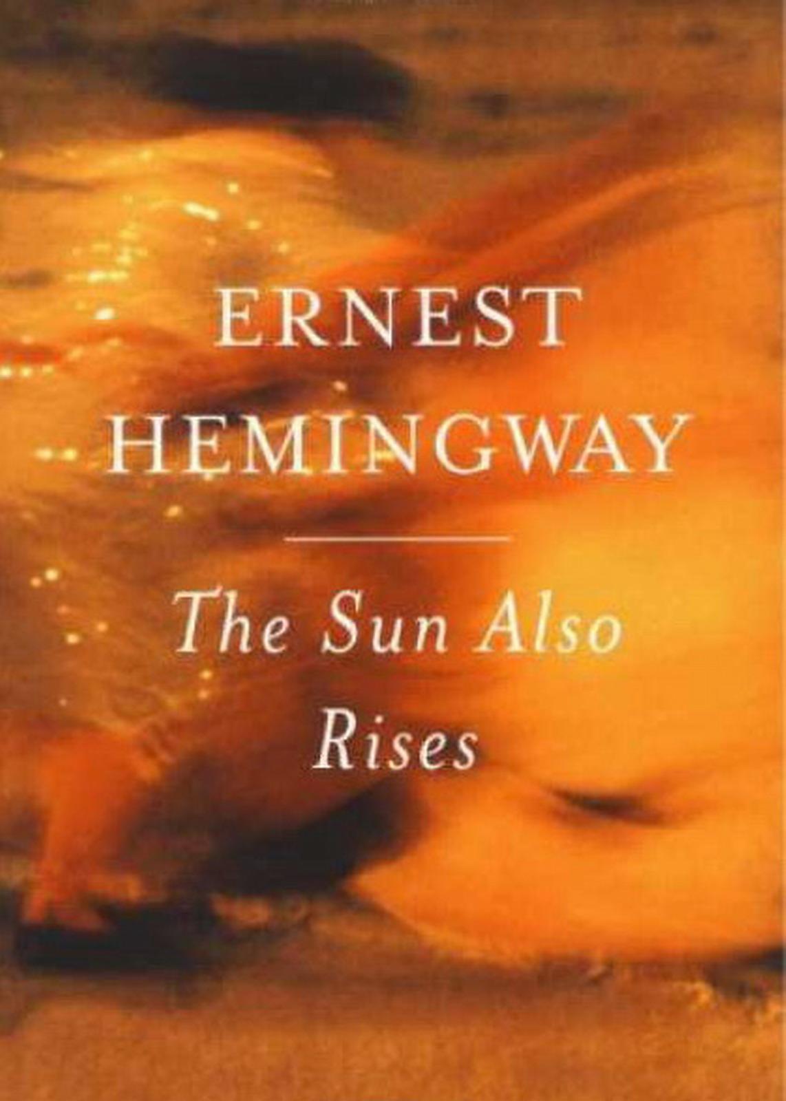 ernest hemingway the sun also rises essays