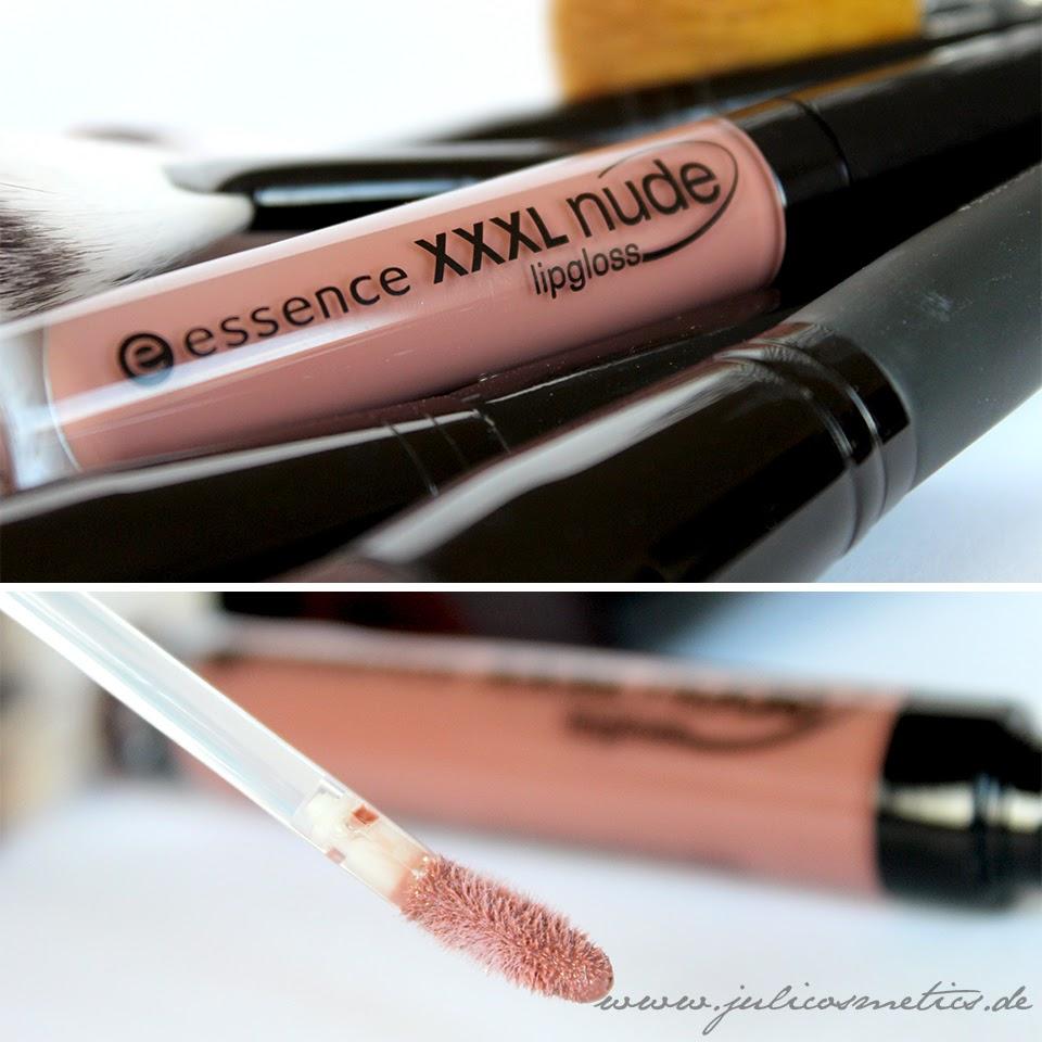 essence XXXL nude lipgloss - 06 soft Almond