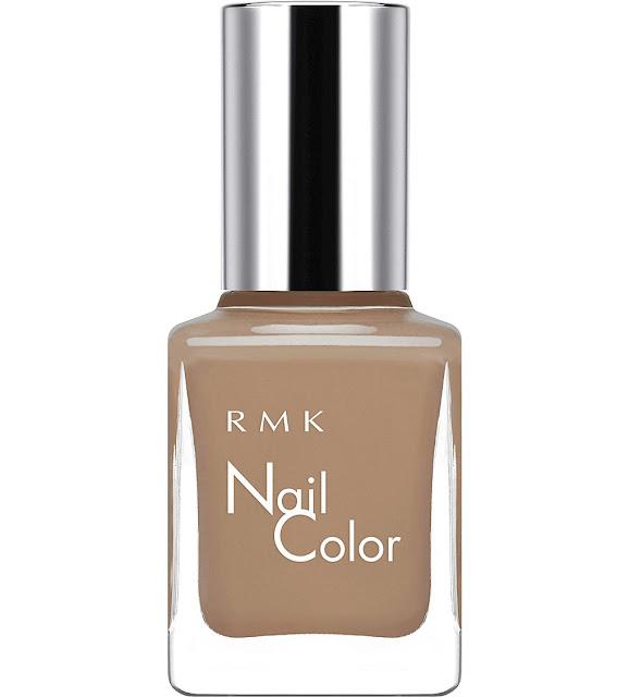 RMK beige nail polish, RMK 37 nail polish,