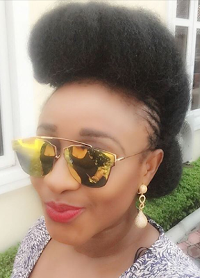 Love Ini Edo's HairStyle