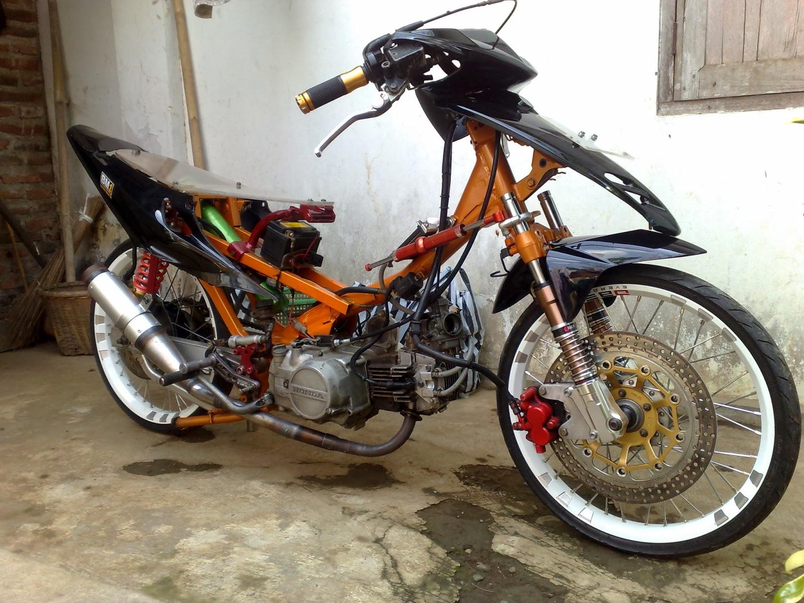 modifikasi motor supra fit 2006 drag terbaru - sukaon