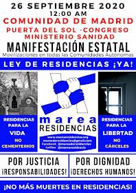 Manifestación: Ley de Residencias ¡Ya!