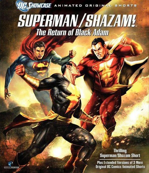 Superman e Shazam: O Retorno do Adão Negro – Dublado (2010)
