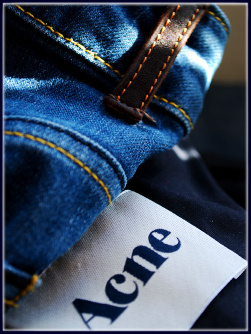 Psynopsis Acne Denim Label