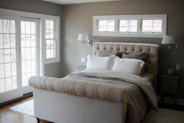 Monochromatic color schemes for a bedroom design for Monochromatic bedroom designs