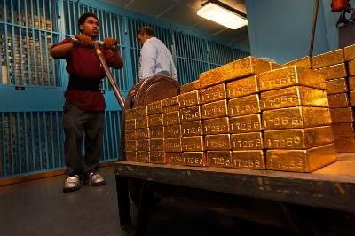 Штат Техас забирает своё золото у ФРС