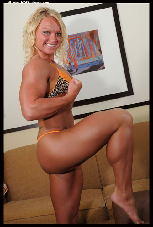 Christine Moyer Female Muscle Legs