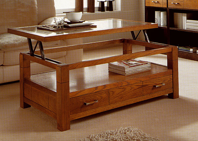 Mesas de comedor por la decoradora experta una mesa de - Como hacer una mesa abatible ...