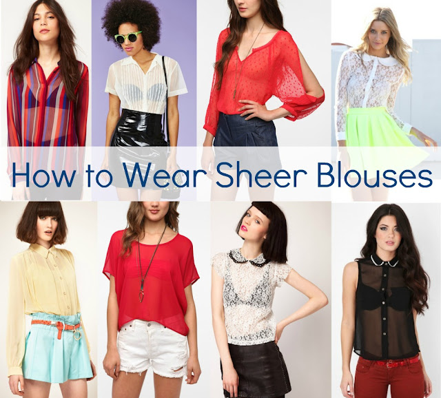 How to Wear the Sheer Fashion Trend