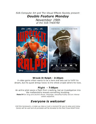 Double Feature Monday at the SVA Theater