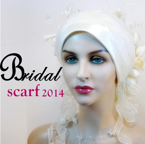 Bridal Hijab Styles 2014