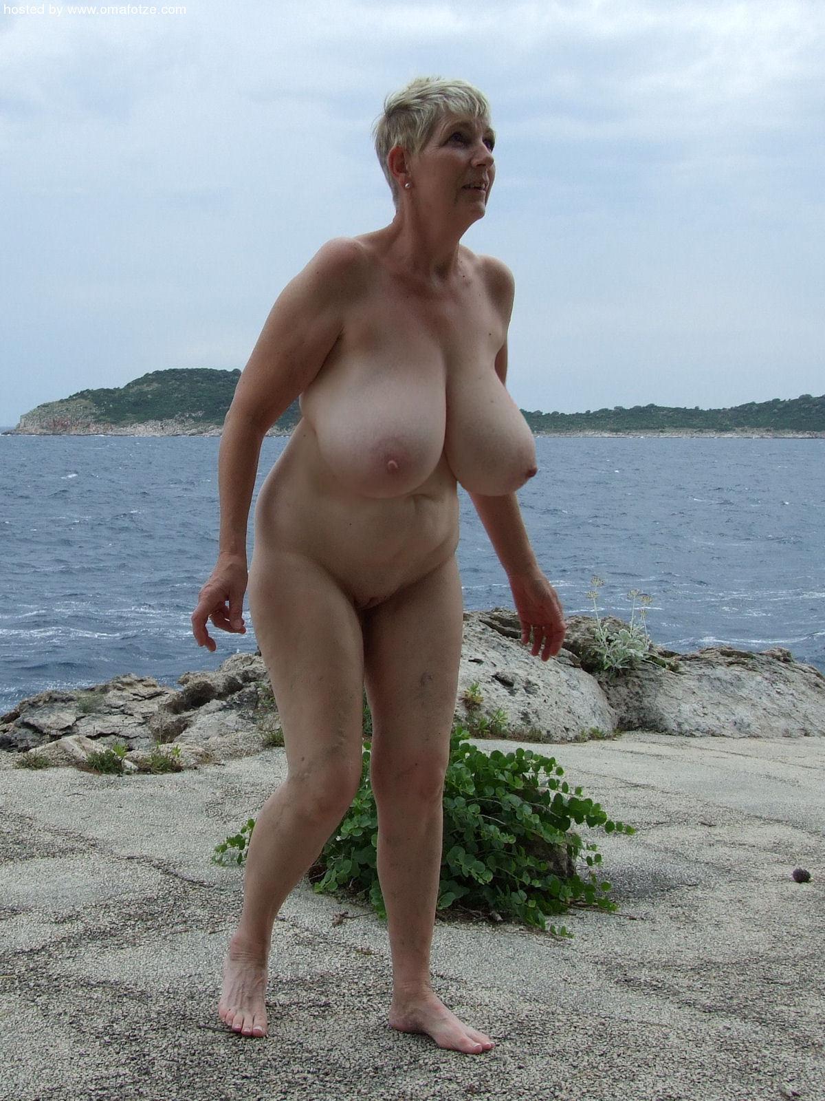 Ass tits nude beach big