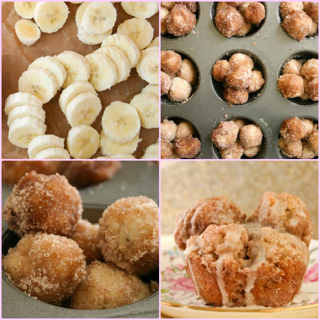 Bakergirl: Banana Monkey Bread Muffins.
