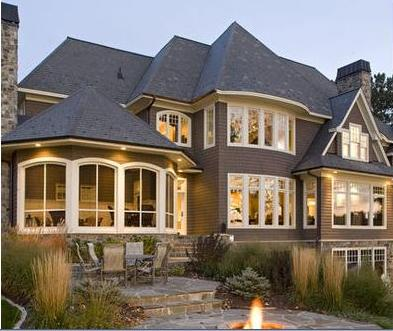 Fachadas de casas decoraci n de frentes de viviendas for Frentes de viviendas