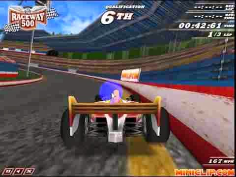 http://www.dailyfreegames.com/flash/racing-games/raceway-500.html