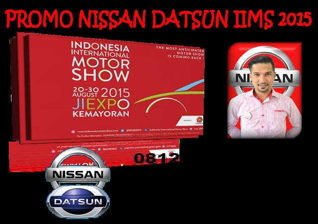 PROMO NISSAN DATSUN IIMS 2015