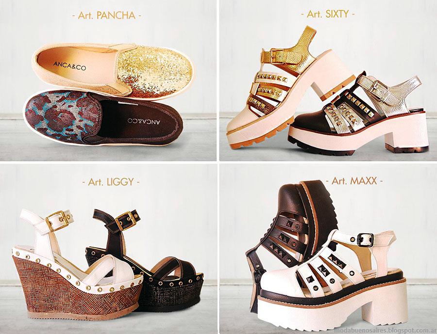 Sandalias 2015 Anca & Co