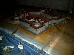 Maqueta de la Fortaleza del Real Felipe