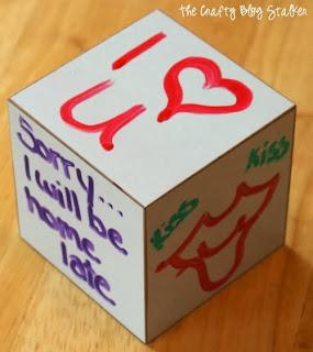 Dry Erase Cubes
