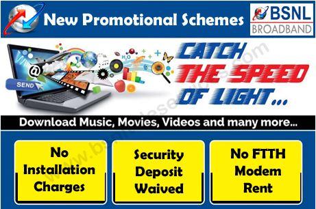 BSNL Waives Hyderabad Broadband Deposit, Installation Charges