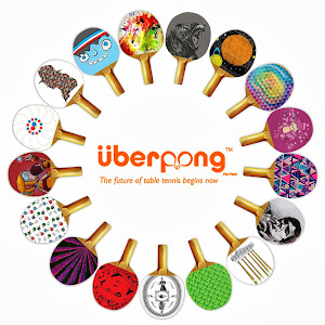 Designer & Custom Ping Pong Paddles by Uberpong