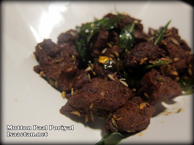 Mutton Paal Poriyal