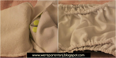*Kickin' It Off With Cloth* Glow Bug Cloth Diapers