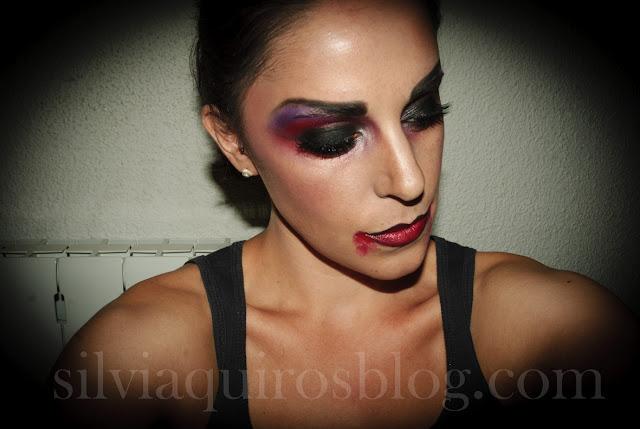 Maquillaje Halloween 9: Vampiro sexy (versátil), Halloween Make-up 9: Sexy Vampire (versatile) efectos especiales, special effects, Silvia Quirós