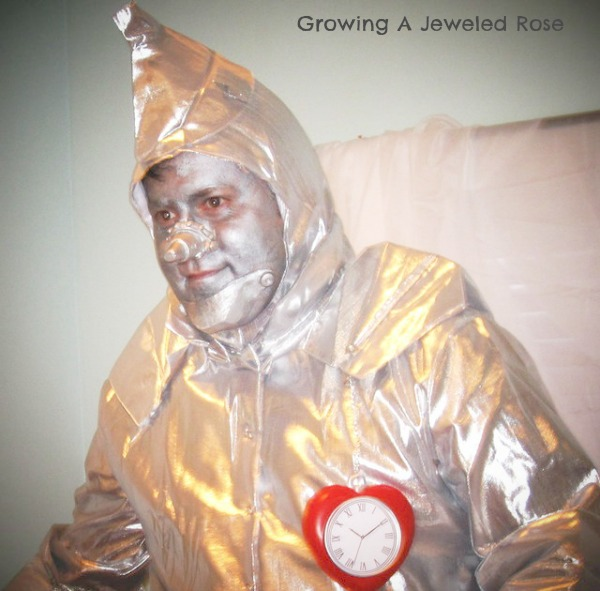 Tin Man Halloween costume Family Halloween costume themes