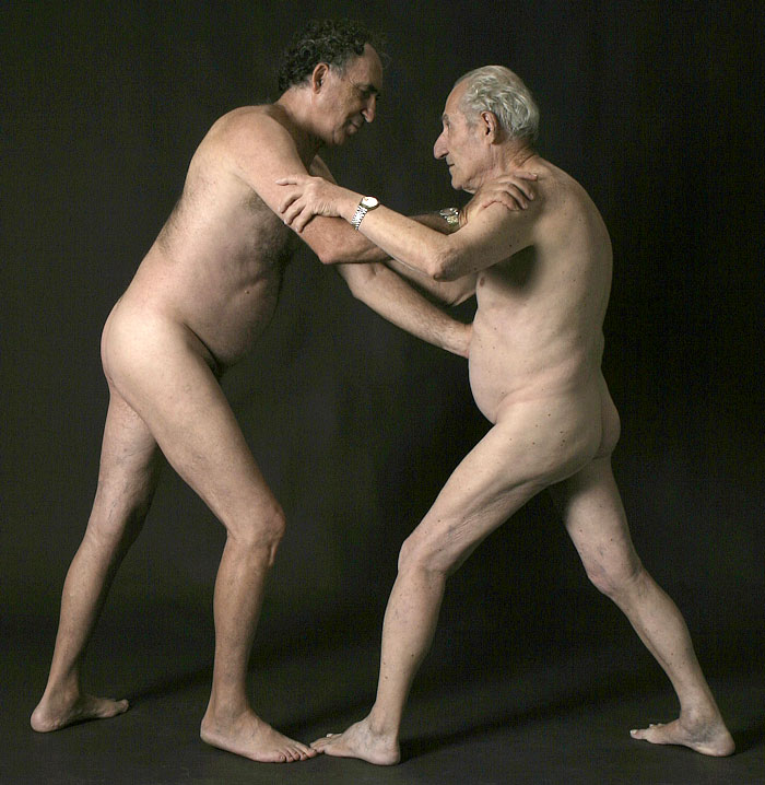 Обнаженные Старые Люди