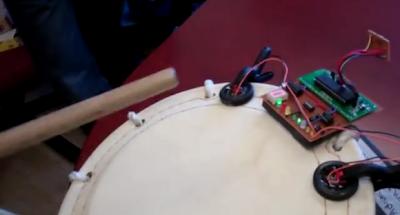 Taiko microcontrolado com AVR