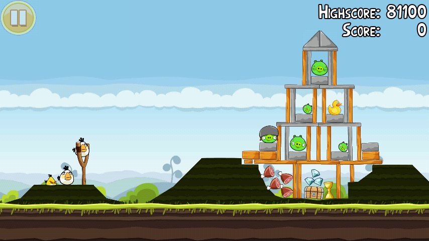 Angry Birds 4-11 Mighty Hoax