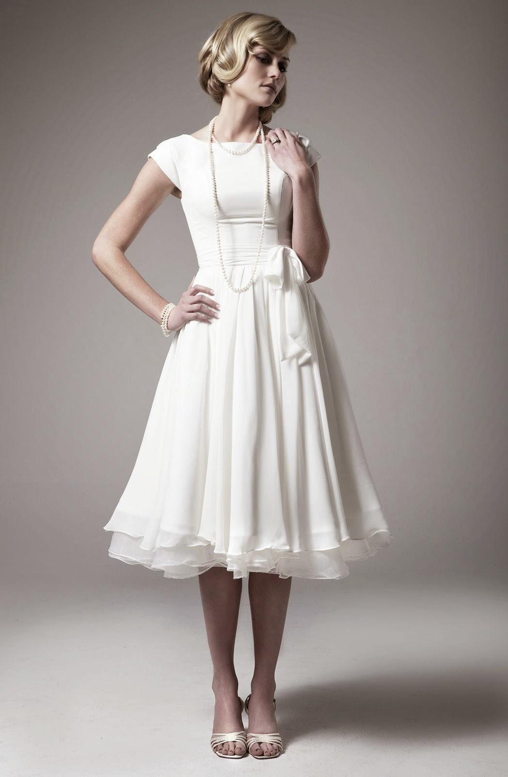 White Casual Wedding Dresses Photos HD Concepts Ideas