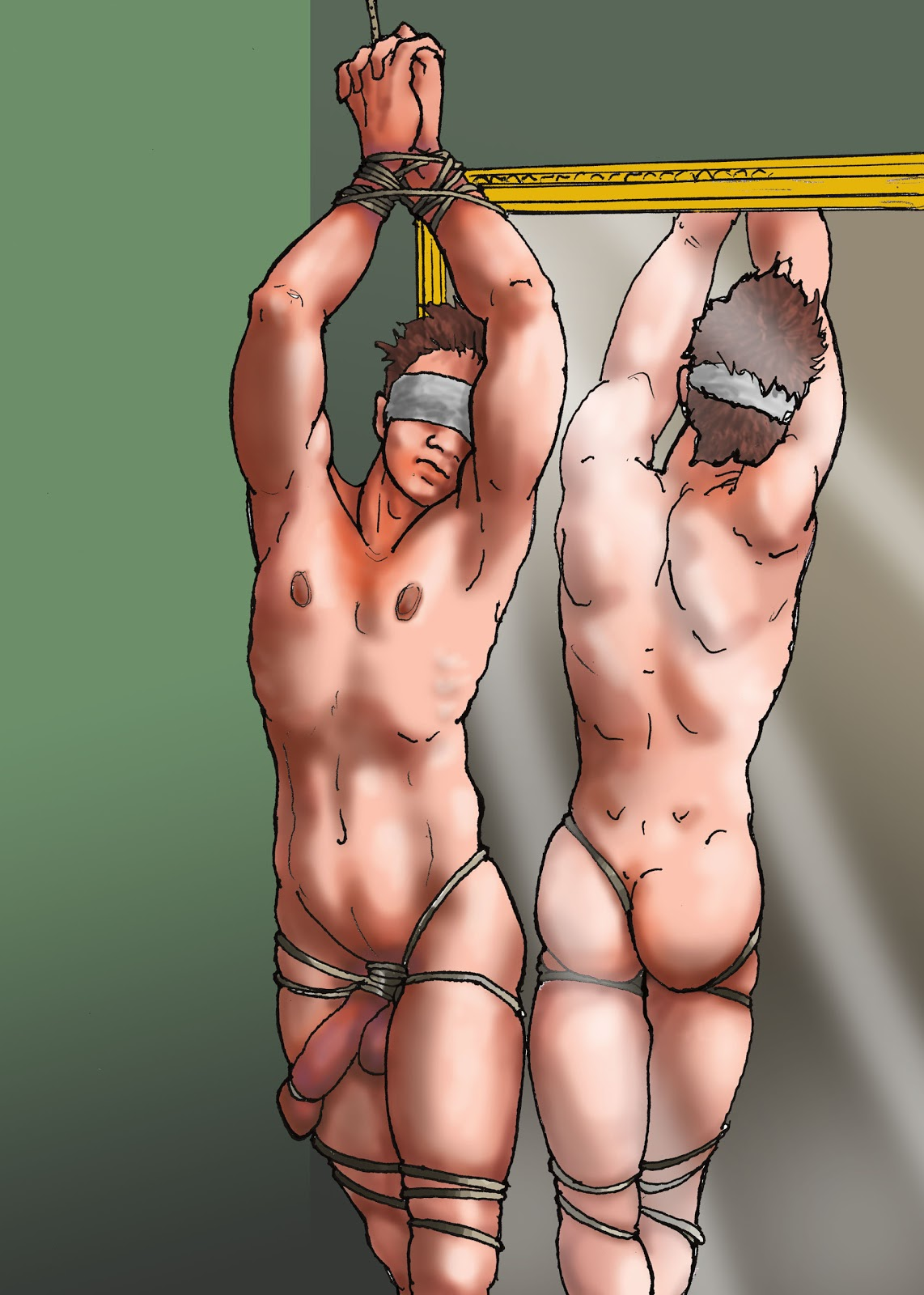BDSM Male Drawings