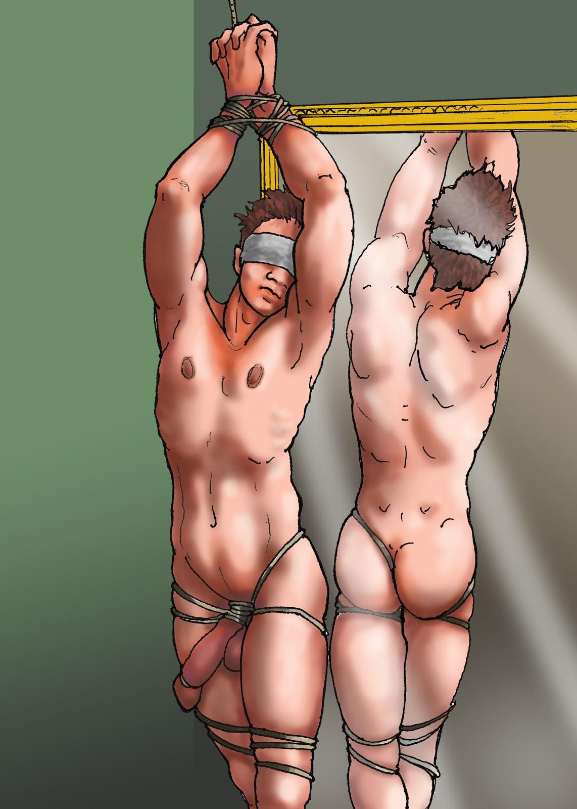 BDSM Male Drawings