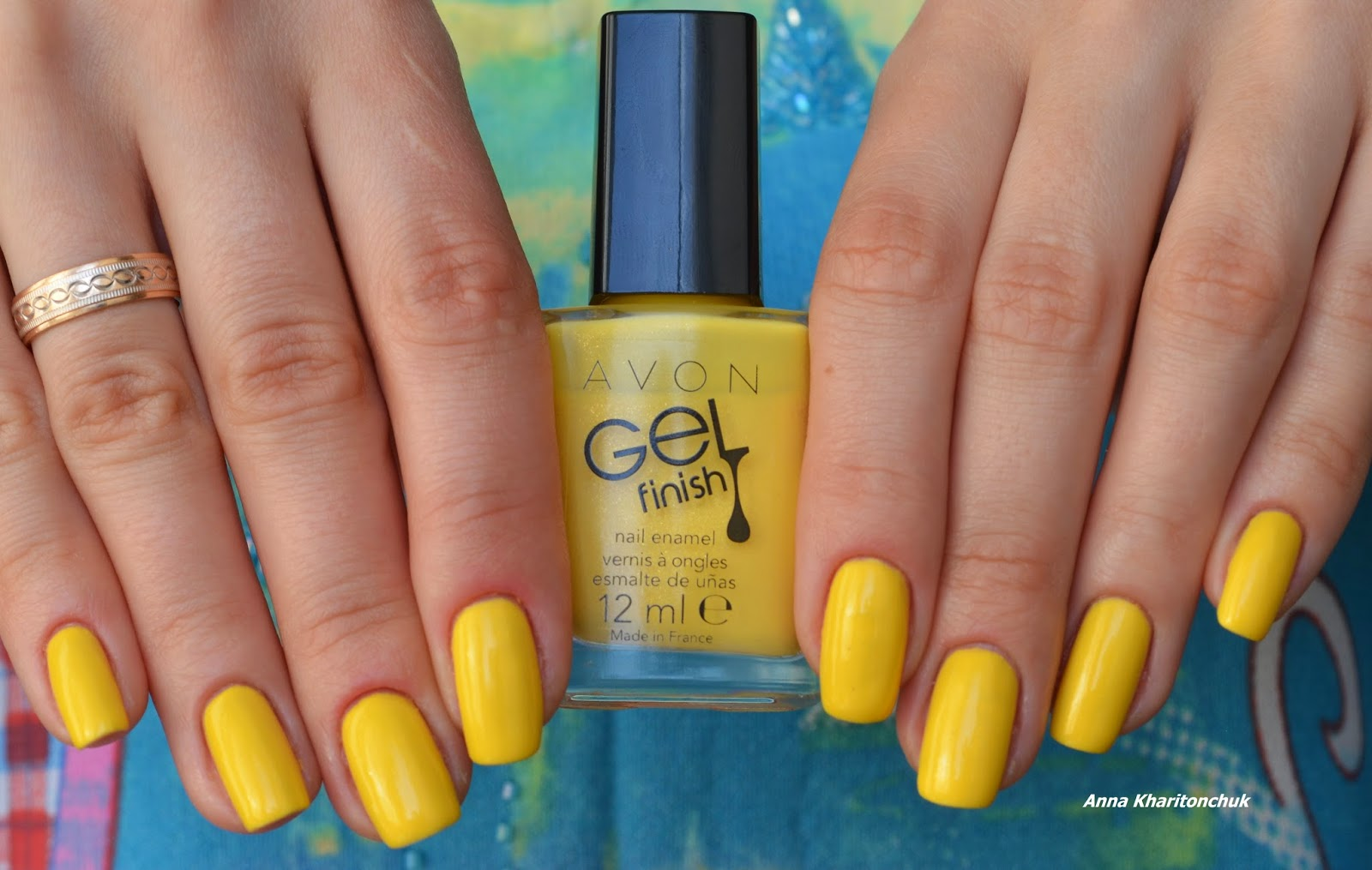 Avon Gel Finish Limoncello