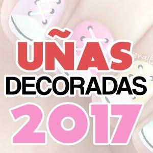 Uñas decoradas hermosas para manos y pies 2017
