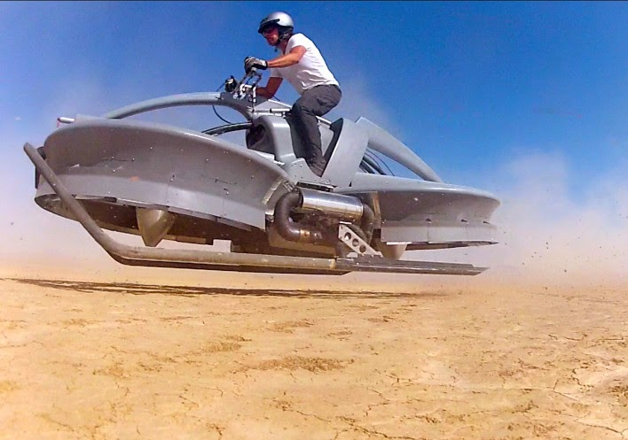 Star Wars-style Hover Bikes Coming In 2017