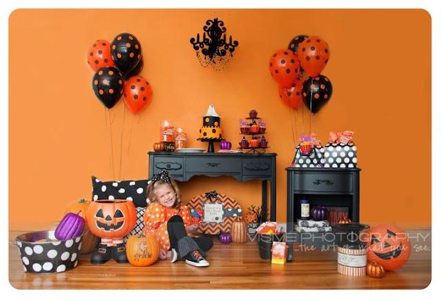 Polka Dot Halloween Party Ideas Polka Dot Birthday