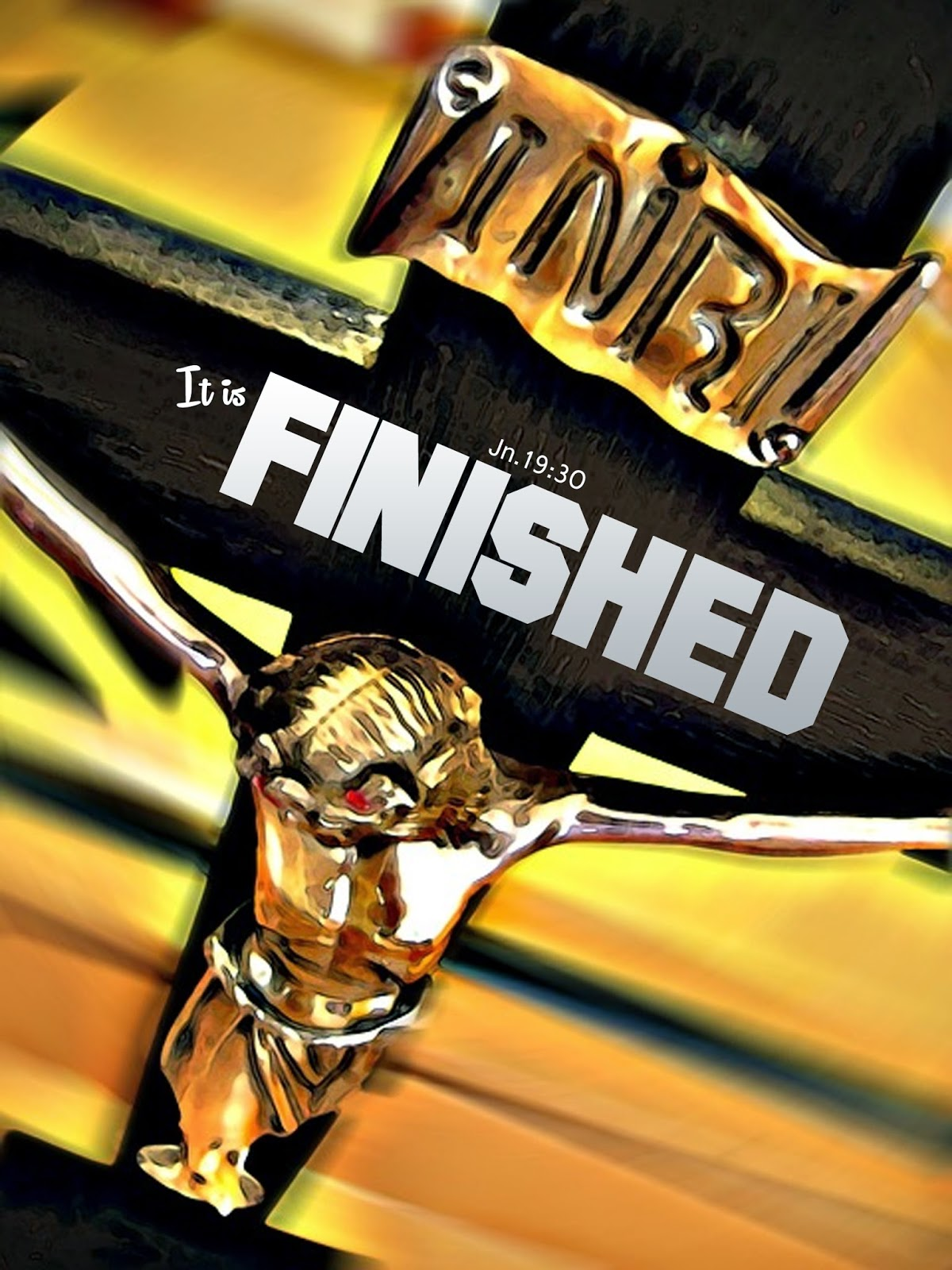 Jn. 19:30 It is Finished