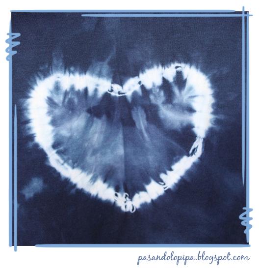pasandolopipa : tie dye corazón hearth