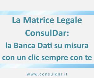 Matrice Legale ConsulDar