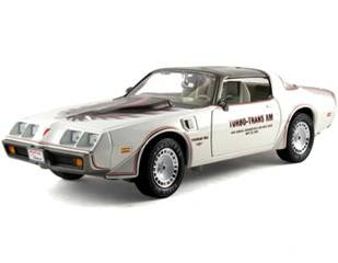 Pontiac Diecast  Greenlight 12830 1980 Pontiac Trans Am Indy Pace Car White
