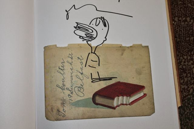 Oliver Jeffers THE INCREDIBLE BOOK EATING BOOK  via www.happybirthdayauthor.com